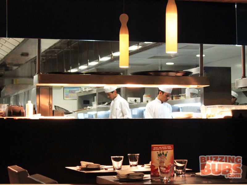 Open Kitchen - Yauatcha, MG Road