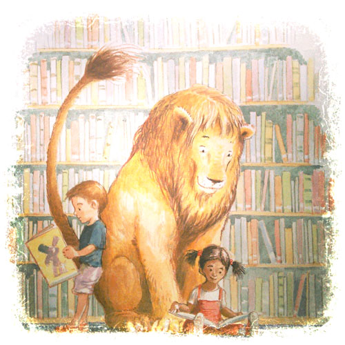 library-lion-01